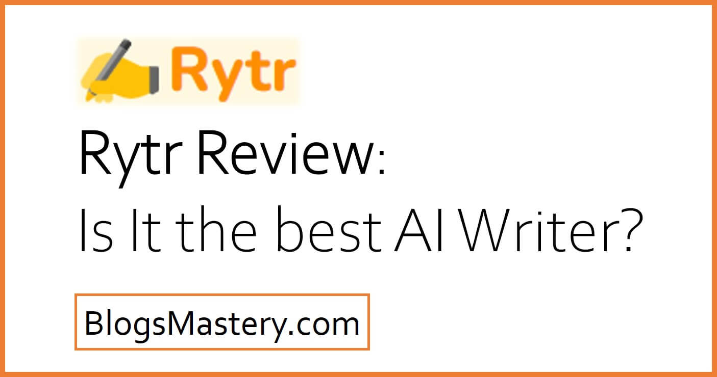rytr the best ai copy writer tool review